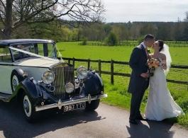 1939 Rolls Royce for weddings in Windsor